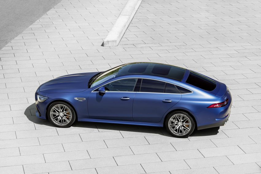 Mercedes-AMG GT 4-Door Coupé facelift revealed with minor aesthetic, kit upgrades – V8 models coming later Image #1307330