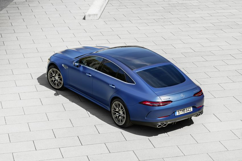 Mercedes-AMG GT 4-Door Coupé facelift revealed with minor aesthetic, kit upgrades – V8 models coming later Image #1307331