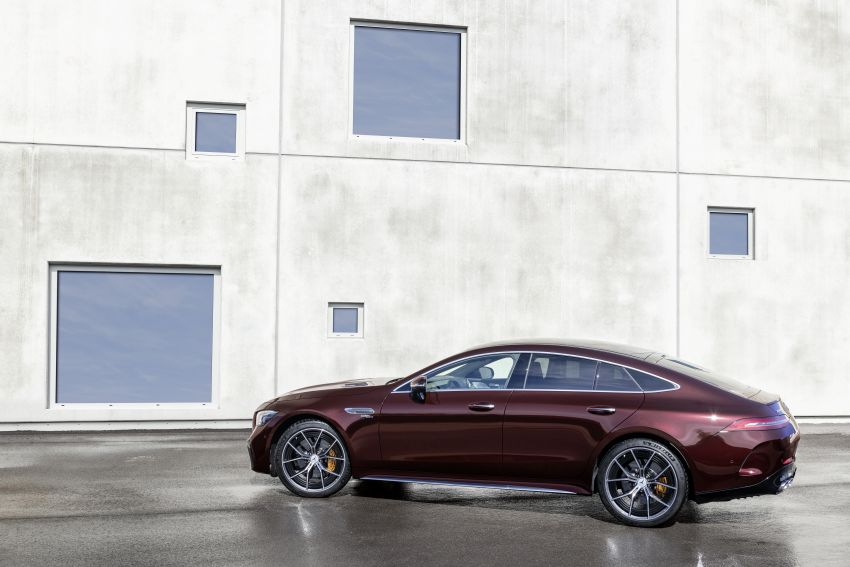 Mercedes-AMG GT 4-Door Coupé facelift revealed with minor aesthetic, kit upgrades – V8 models coming later Image #1307301