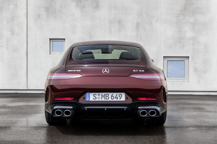 Mercedes-AMG GT 4-Door Coupé facelift revealed with minor aesthetic, kit upgrades – V8 models coming later Image #1307305