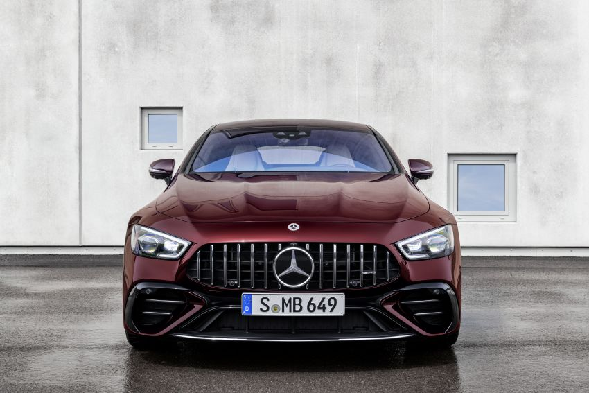 Mercedes-AMG GT 4-Door Coupé facelift revealed with minor aesthetic, kit upgrades – V8 models coming later Image #1307307
