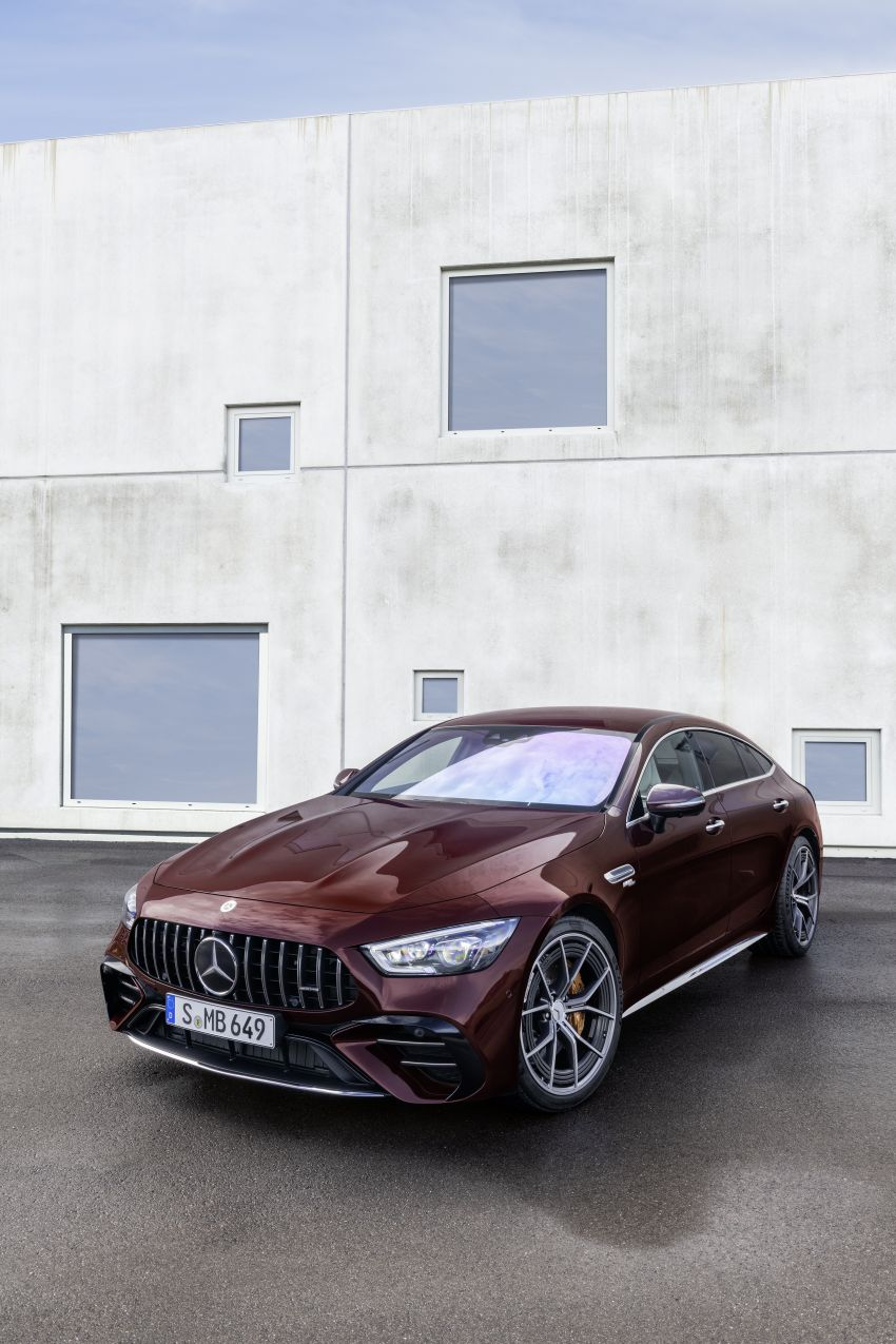 Mercedes-AMG GT 4-Door Coupé facelift revealed with minor aesthetic, kit upgrades – V8 models coming later Image #1307309
