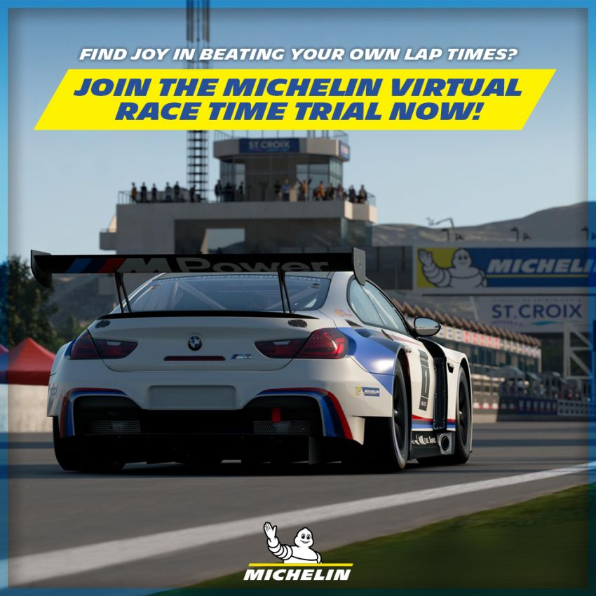 Michelin Virtual Racing Series in Malaysia – win tyres, gaming chair, merchandise, plus RM10,000 cash pool! Image #1310573