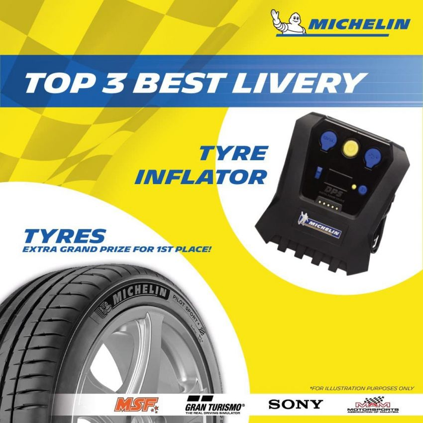 Michelin Virtual Racing Series in Malaysia – win tyres, gaming chair, merchandise, plus RM10,000 cash pool! Image #1310575