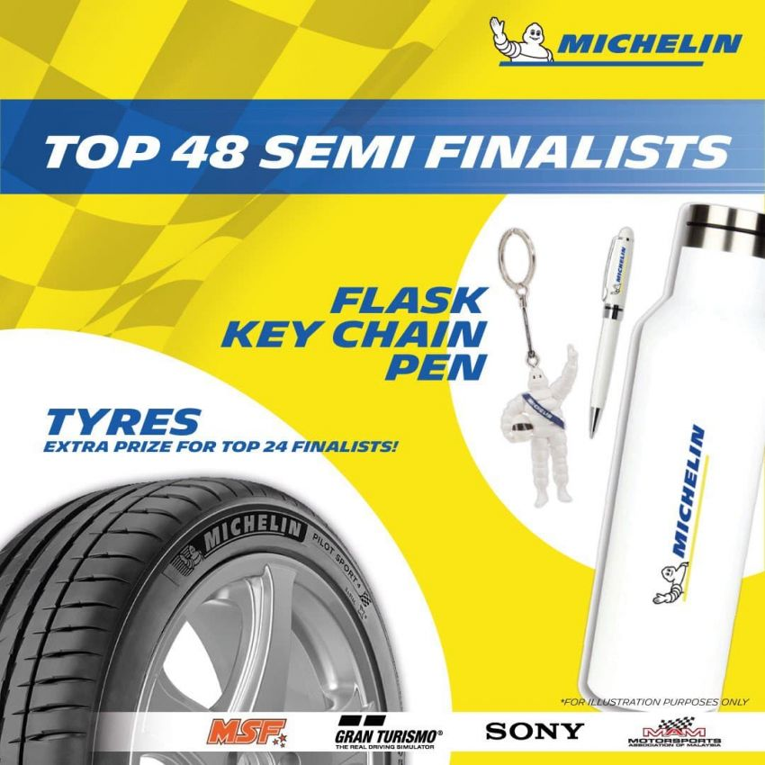 Michelin Virtual Racing Series in Malaysia – win tyres, gaming chair, merchandise, plus RM10,000 cash pool! Image #1310576
