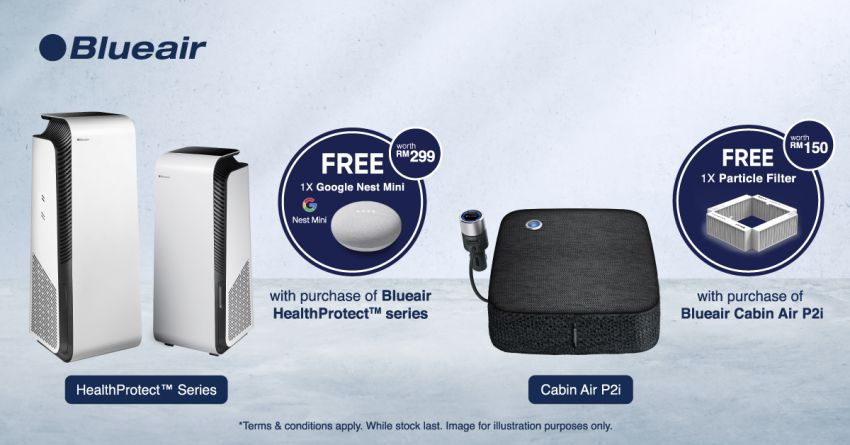 AD: Buy a Blueair HealthProtect or Cabin Air purifier; get a Google Nest Mini, particle filter and more, free! Image #1309978