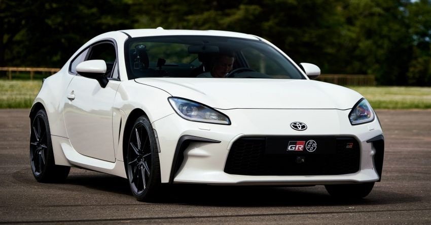 Toyota GR86 to make dynamic debut at Goodwood Image #1312075