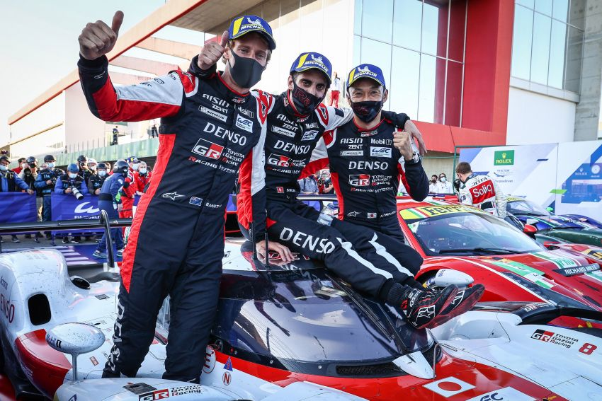 Toyota Gazoo Racing takes 1-2 finish in 100th World Endurance Championship race at 8 Hours of Portimao Image #1306832
