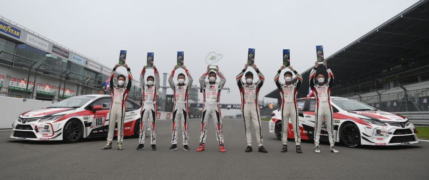 Toyota Gazoo Racing Thailand takes 2nd straight class victory at 2021 24 Hours of Nürburgring in Corolla Altis Image #1306245