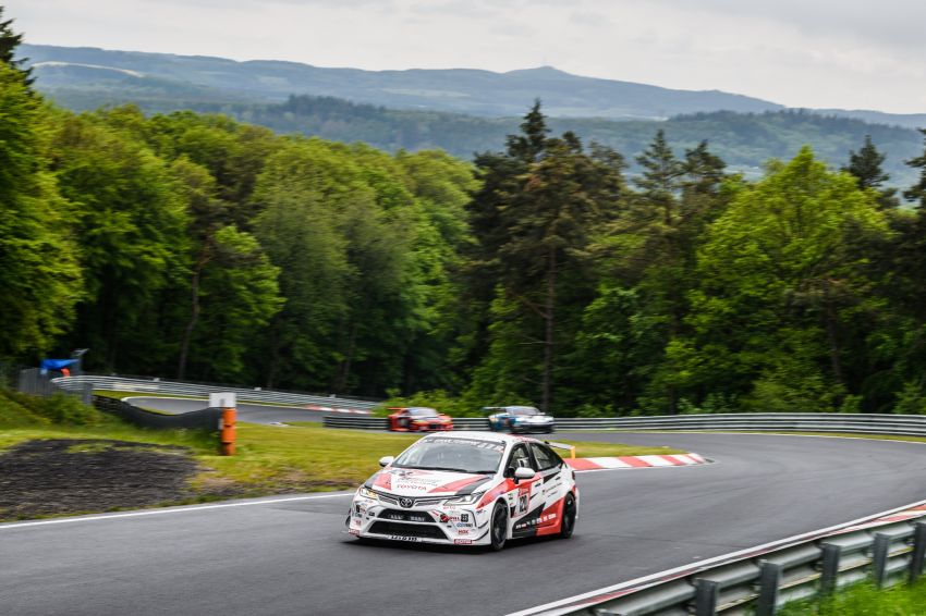 Toyota Gazoo Racing Thailand takes 2nd straight class victory at 2021 24 Hours of Nürburgring in Corolla Altis Image #1306254