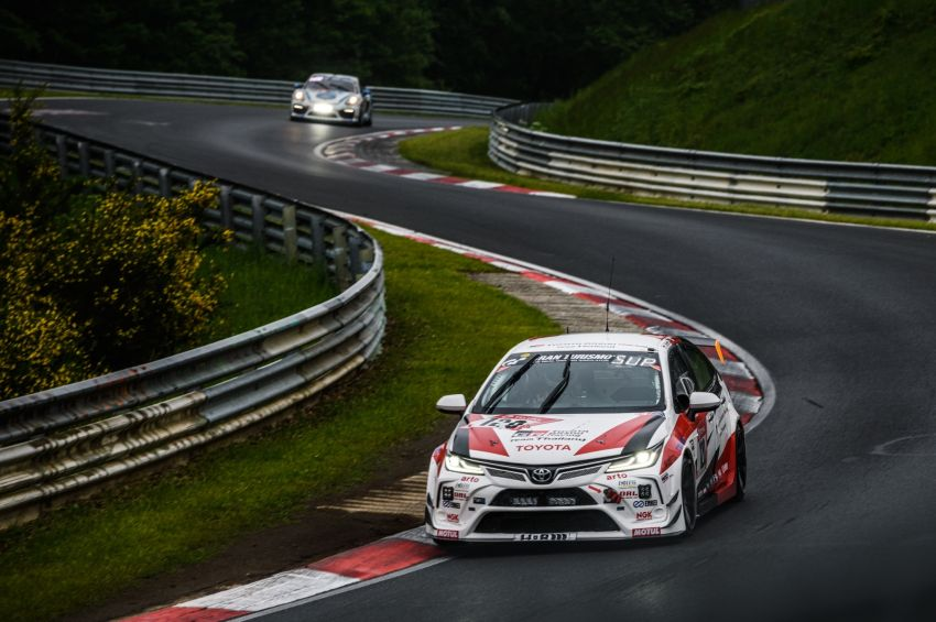 Toyota Gazoo Racing Thailand takes 2nd straight class victory at 2021 24 Hours of Nürburgring in Corolla Altis Image #1306257