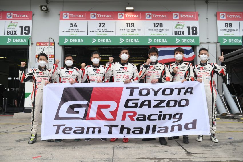 Toyota Gazoo Racing Thailand takes 2nd straight class victory at 2021 24 Hours of Nürburgring in Corolla Altis Image #1306259
