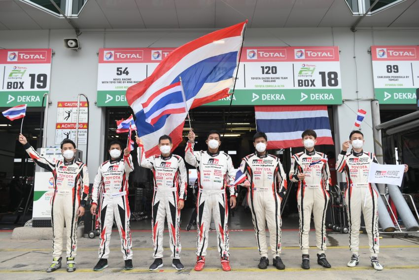 Toyota Gazoo Racing Thailand takes 2nd straight class victory at 2021 24 Hours of Nürburgring in Corolla Altis Image #1306260
