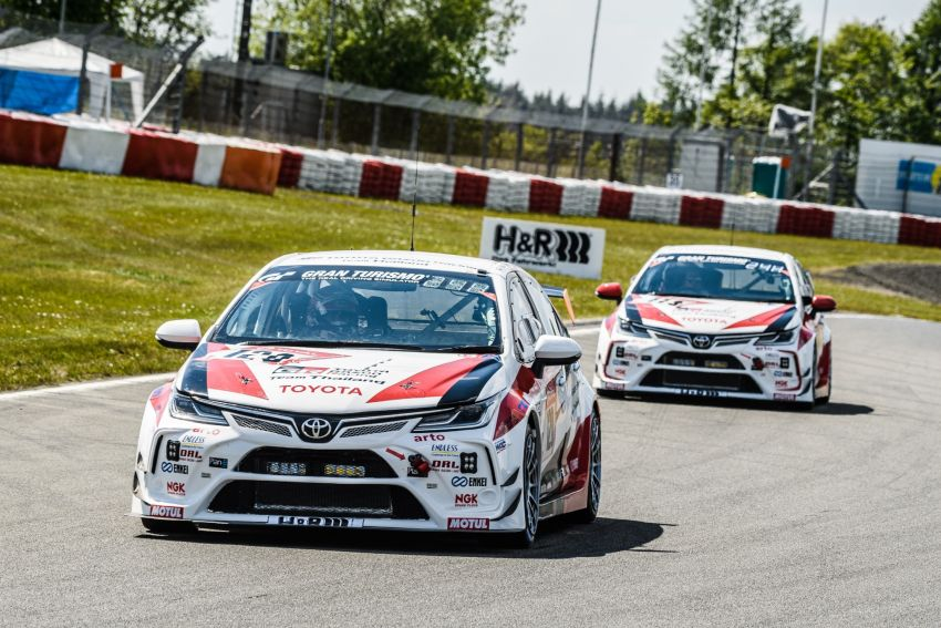 Toyota Gazoo Racing Thailand takes 2nd straight class victory at 2021 24 Hours of Nürburgring in Corolla Altis Image #1306261