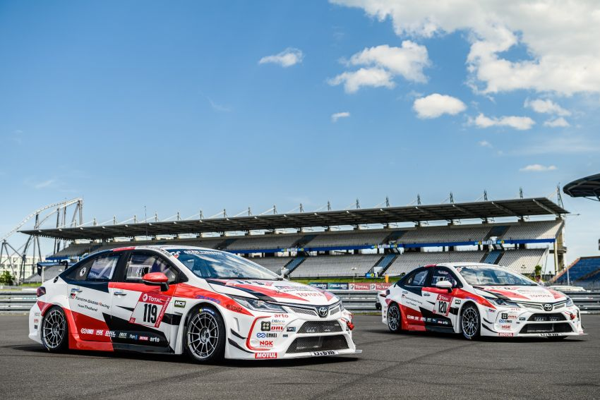 Toyota Gazoo Racing Thailand takes 2nd straight class victory at 2021 24 Hours of Nürburgring in Corolla Altis Image #1306247