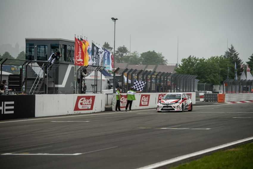 Toyota Gazoo Racing Thailand takes 2nd straight class victory at 2021 24 Hours of Nürburgring in Corolla Altis Image #1306249
