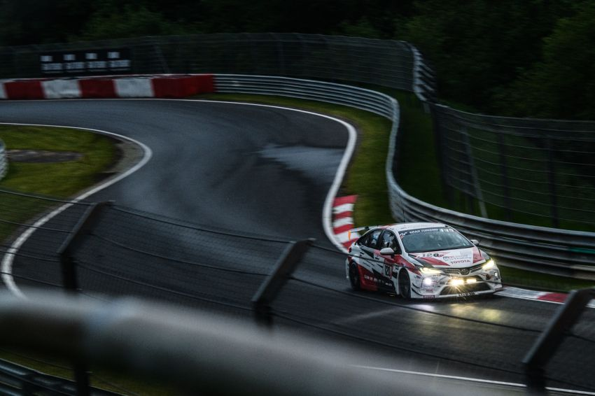 Toyota Gazoo Racing Thailand takes 2nd straight class victory at 2021 24 Hours of Nürburgring in Corolla Altis Image #1306250