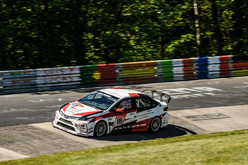 Toyota Gazoo Racing Thailand takes 2nd straight class victory at 2021 24 Hours of Nürburgring in Corolla Altis Image #1306253