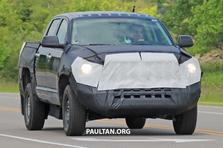 Toyota Tundra 2022 akan guna enjin iForce Max baru Image #1308129
