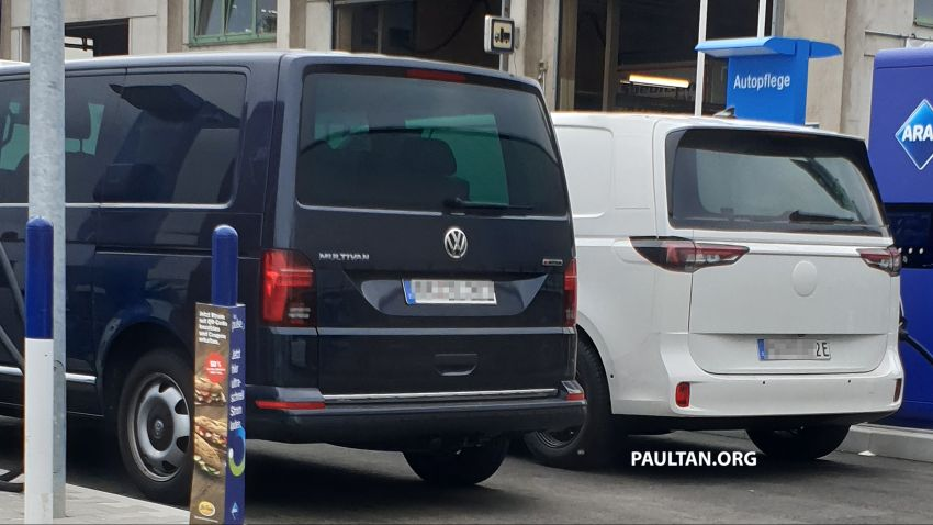 SPIED: Volkswagen ID. Buzz sports production body Image #1312998