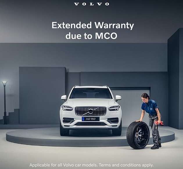 Volvo Car Malaysia announces extension of service interval and warranty grace period beyond the FMCO Image #1306237