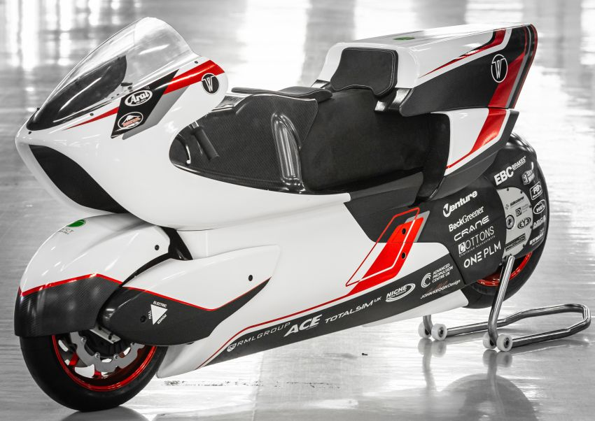 White Motorcycles aims for e-bike land speed record Image #1311418