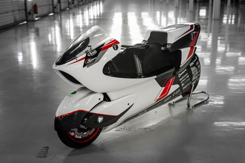 White Motorcycles aims for e-bike land speed record Image #1311420