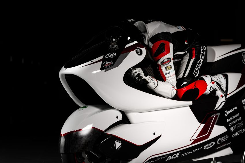 White Motorcycles aims for e-bike land speed record Image #1311421
