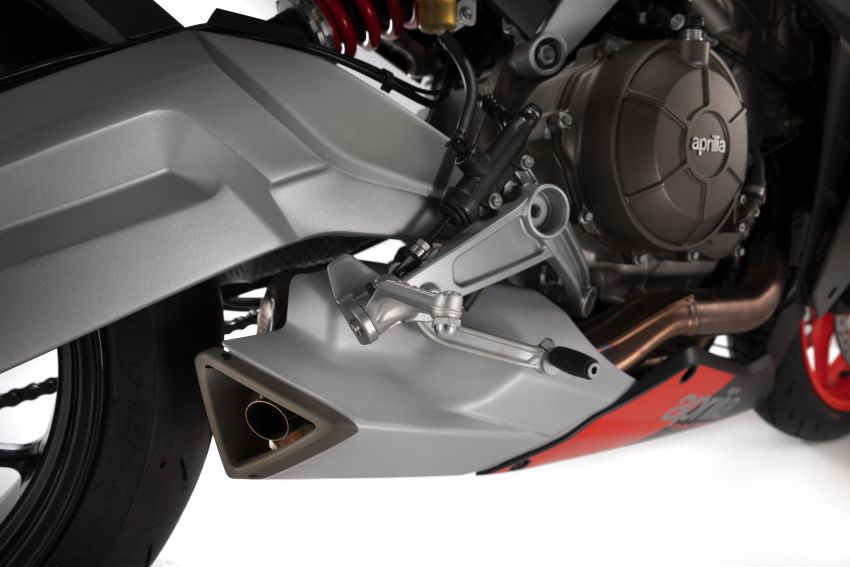 2021 Aprilia RS660/Tuono 660 recall for connecting rod failure – Malaysia VIN numbers not affected Image #1315650