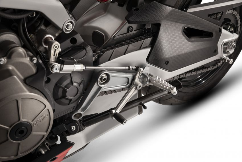 2021 Aprilia RS660/Tuono 660 recall for connecting rod failure – Malaysia VIN numbers not affected Image #1315646