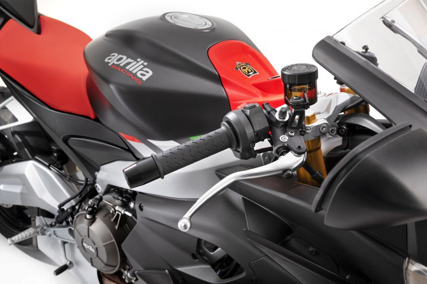 2021 Aprilia RS660/Tuono 660 recall for connecting rod failure – Malaysia VIN numbers not affected Image #1315649