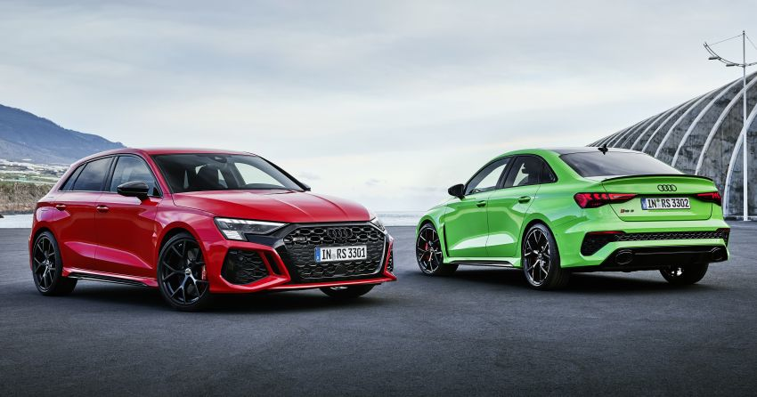 2022 Audi RS3 Sportback and RS3 Sedan debut – 400 PS/500 Nm 2.5 litre TFSI, Torque Splitter rear axle Image #1320981
