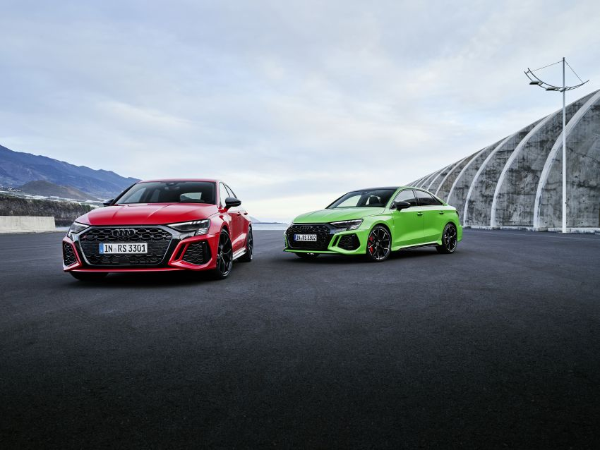 2022 Audi RS3 Sportback and RS3 Sedan debut – 400 PS/500 Nm 2.5 litre TFSI, Torque Splitter rear axle Image #1320982