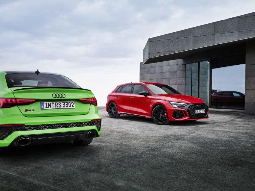 2022 Audi RS3 Sportback and RS3 Sedan debut – 400 PS/500 Nm 2.5 litre TFSI, Torque Splitter rear axle Image #1320984