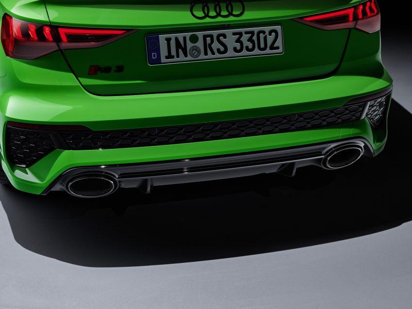 2022 Audi RS3 Sportback and RS3 Sedan debut – 400 PS/500 Nm 2.5 litre TFSI, Torque Splitter rear axle Image #1320941