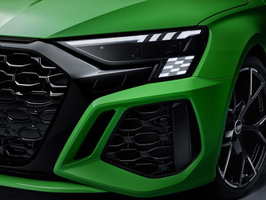 2022 Audi RS3 Sportback and RS3 Sedan debut – 400 PS/500 Nm 2.5 litre TFSI, Torque Splitter rear axle Image #1320944