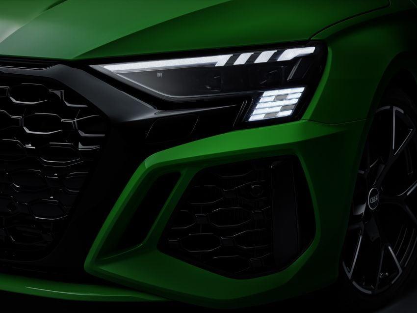 2022 Audi RS3 Sportback and RS3 Sedan debut – 400 PS/500 Nm 2.5 litre TFSI, Torque Splitter rear axle Image #1320945
