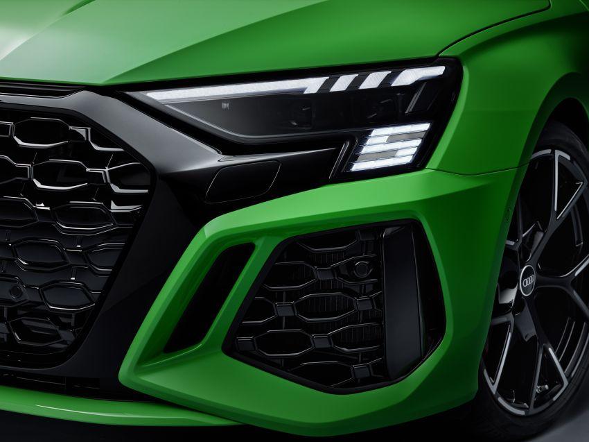 2022 Audi RS3 Sportback and RS3 Sedan debut – 400 PS/500 Nm 2.5 litre TFSI, Torque Splitter rear axle Image #1320950