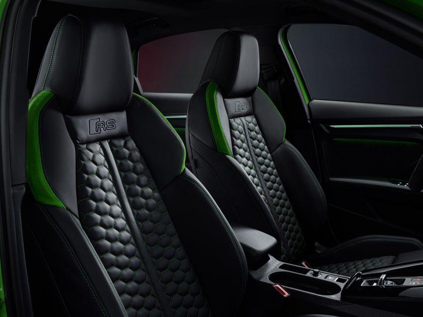 2022 Audi RS3 Sportback and RS3 Sedan debut – 400 PS/500 Nm 2.5 litre TFSI, Torque Splitter rear axle Image #1320953
