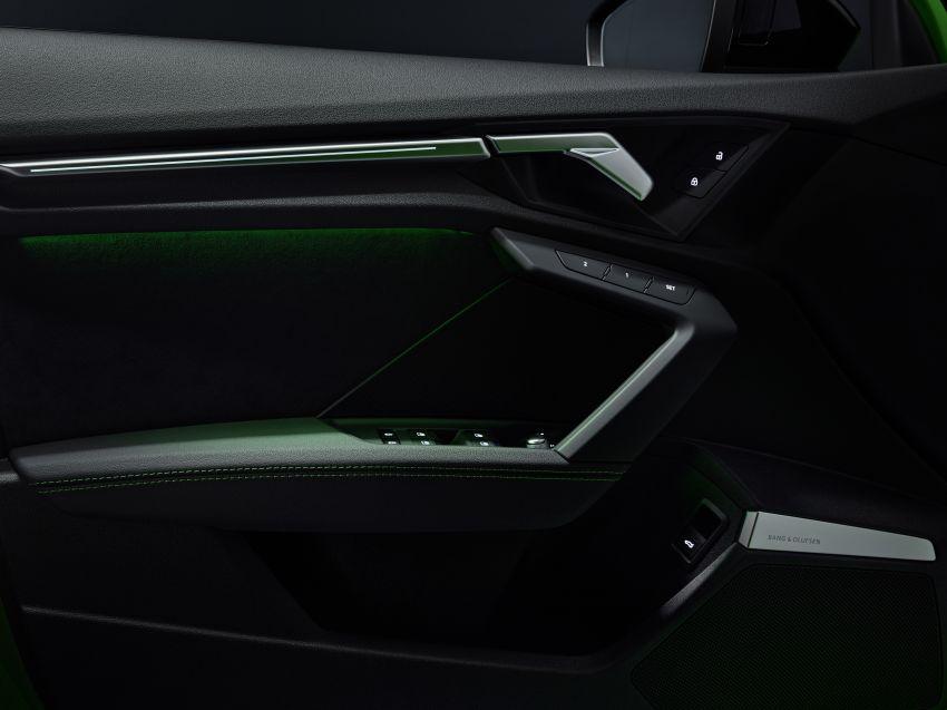 2022 Audi RS3 Sportback and RS3 Sedan debut – 400 PS/500 Nm 2.5 litre TFSI, Torque Splitter rear axle Image #1320955