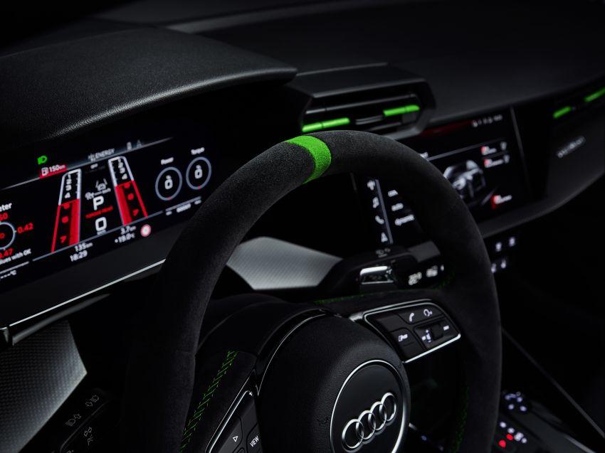 2022 Audi RS3 Sportback and RS3 Sedan debut – 400 PS/500 Nm 2.5 litre TFSI, Torque Splitter rear axle Image #1320956