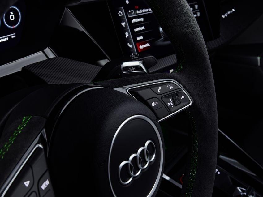 2022 Audi RS3 Sportback and RS3 Sedan debut – 400 PS/500 Nm 2.5 litre TFSI, Torque Splitter rear axle Image #1320957