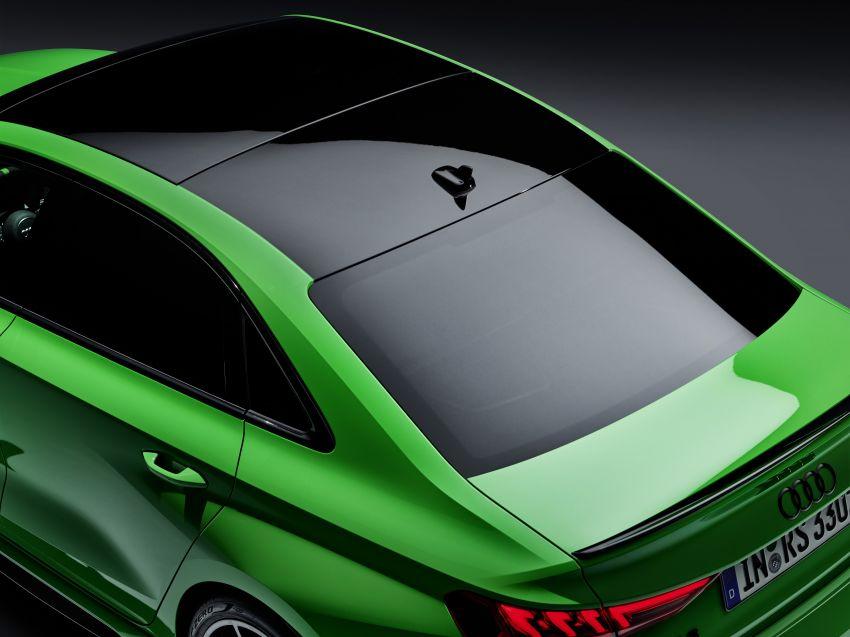 2022 Audi RS3 Sportback and RS3 Sedan debut – 400 PS/500 Nm 2.5 litre TFSI, Torque Splitter rear axle Image #1320962
