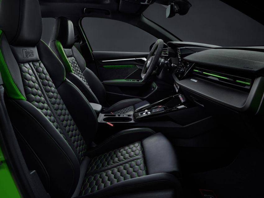 2022 Audi RS3 Sportback and RS3 Sedan debut – 400 PS/500 Nm 2.5 litre TFSI, Torque Splitter rear axle Image #1320964