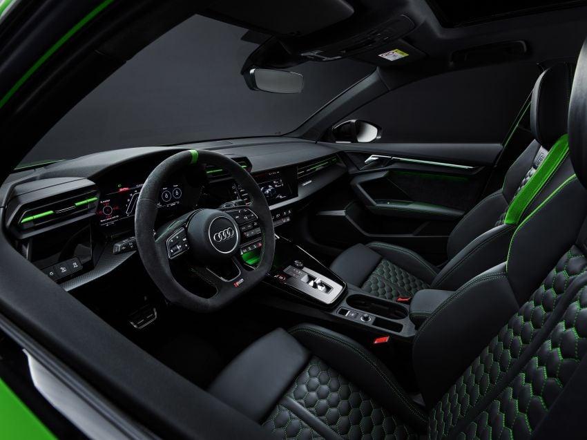 2022 Audi RS3 Sportback and RS3 Sedan debut – 400 PS/500 Nm 2.5 litre TFSI, Torque Splitter rear axle Image #1320966