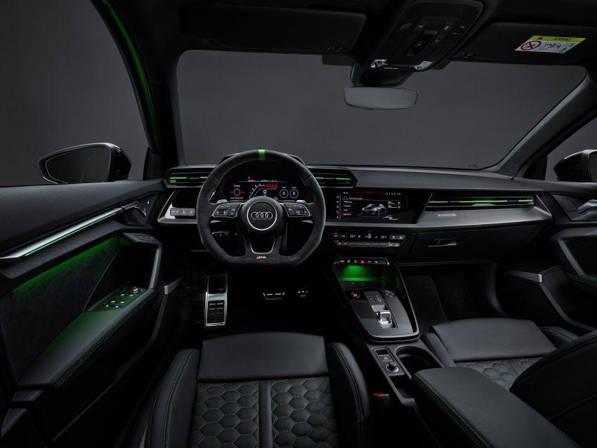 2022 Audi RS3 Sportback and RS3 Sedan debut – 400 PS/500 Nm 2.5 litre TFSI, Torque Splitter rear axle Image #1320968