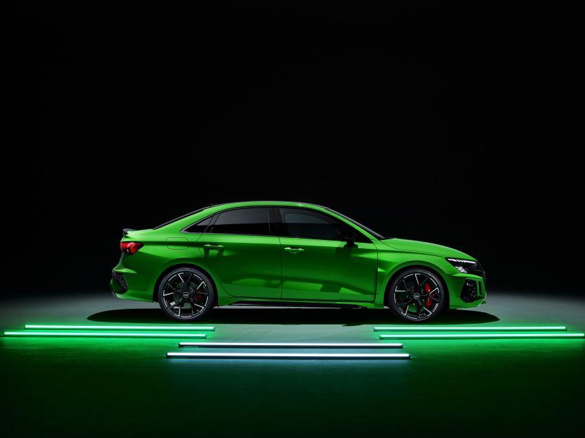 2022 Audi RS3 Sportback and RS3 Sedan debut – 400 PS/500 Nm 2.5 litre TFSI, Torque Splitter rear axle Image #1320973