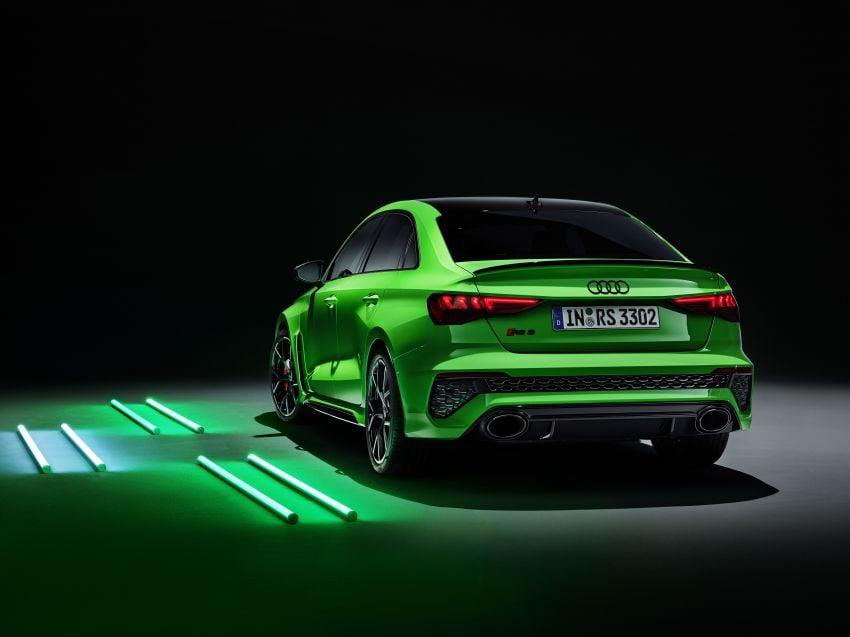 2022 Audi RS3 Sportback and RS3 Sedan debut – 400 PS/500 Nm 2.5 litre TFSI, Torque Splitter rear axle Image #1320977