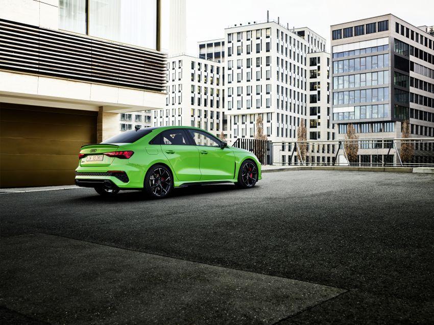 2022 Audi RS3 Sportback and RS3 Sedan debut – 400 PS/500 Nm 2.5 litre TFSI, Torque Splitter rear axle Image #1320879
