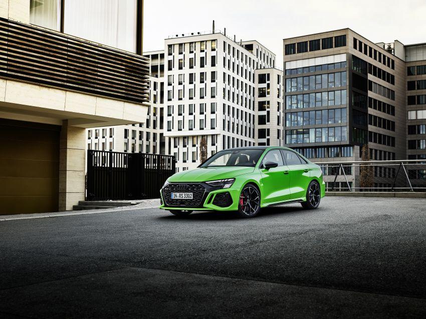 2022 Audi RS3 Sportback and RS3 Sedan debut – 400 PS/500 Nm 2.5 litre TFSI, Torque Splitter rear axle Image #1320880